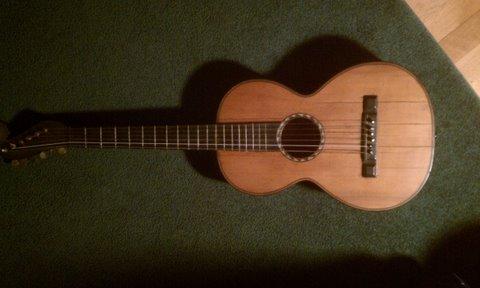 Stauffer style guitar