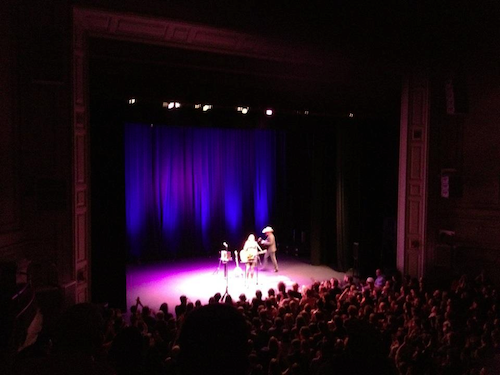 picture of gillian welch on stage for encore